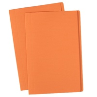 Avery Coloured Manilla Folders Foolscap Orange