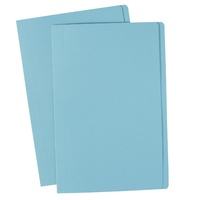 Avery Coloured Manilla Folders Foolscap Lt Blue
