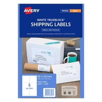 Avery L8166 25 Mailing Labels Inkjet 6 Sheet 99.1X93.1 Parcel