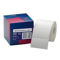 Avery Address Labels 63X36mm36 Roll White