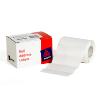 Avery Address Labels 102X36mm Roll White 500Bx