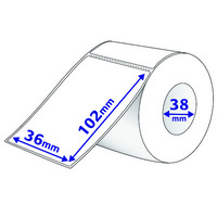 Avery Thermal Label Thermal Roll Label 102X36mm 500/Roll
