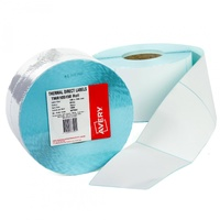 Avery TMR100100 Thermal Label 100X100mm White 1500 Roll