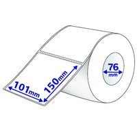 Avery Thermal Label Thermal Roll Label 101X150mm 1000/Roll