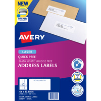 Avery L7159 Mailing Labels Laser 24 Sheet 64X33.8mm