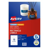 Avery L7666 Media Laser Labels 3 5 Disk Face Only 70X52mm