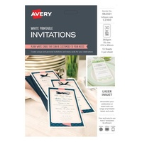 Avery Celebrations & Events Labels C2360 DL Invite 3Up 210X99mm 10Pk
