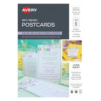Avery Celebrations & Events Labels C2319 Postcard 4Up 128X82mm 10Pk