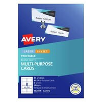 Avery Celebrations & Events Labels C32072 Placecard 8Up 85X54mm 5Pk
