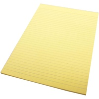 Quill A4 70Leaf Colour Bond Pads Yellow
