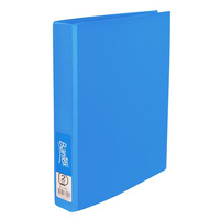 Bantex Economy Binder A4 25mm 2D Ring BlueBerry