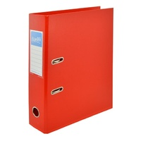 Bantex A4 70mm Lever Arch File Red