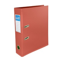 Bantex A4 70mm Lever Arch File Terracotta