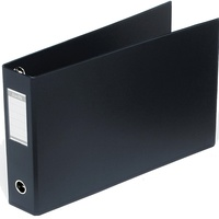 Bantex Oblong Binder A3 65mm 3D Ring Black