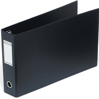Bantex Oblong Binder A3 65mm 4D Ring Black