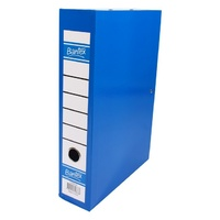 Bantex Box Files Foolscap 70mm Blueberry
