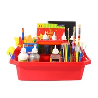 Brenex Plastic Tote Tray Large 50cm Red