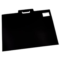 Quill Art Folio A2 530 Carry Sleeve with Handle Black
