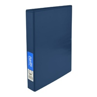 Bantex Insert Binder A4 25mm 3D Ring Blue