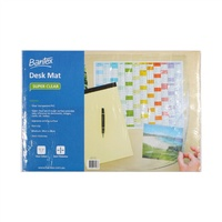 Bantex Desk Pad Transparent 34x48cm
