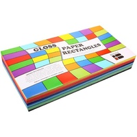 Brenex Gloss Rectangle 250 x 125mm 360 sheets Assorted