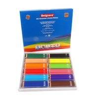 Belgrave Coloured Pencils 83014 Hexagonal Wood Free Assorted Bx288
