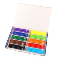 Belgrave Coloured Pencils 83054 Triangular Jumbo Wood Free Assorted Bx70