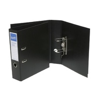Bantex High Capacity A4 Lever Arch File Ecoboard Black