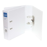 Bantex High Capacity A4 Lever Arch File Ecoboard White