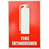 Extinguisher Location Sign - Angled Size: 220X330mm