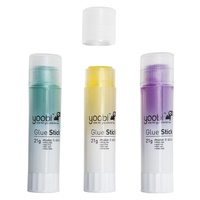 Yoobi™ Glue Sticks Assorted
