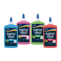 Bostik School Glue Coloured Pink 250ml