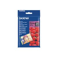 "Brother BP61GLP ""6X4"""" Premium Glossy Paper (20 Sheets) - 190 gsm"""