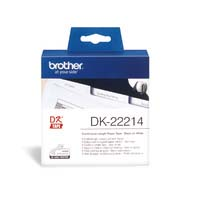 Brother Continuous Label Roll White Paper 12mmx30.48M