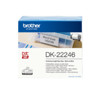 Brother DK-22246 Continuous Paper Label Roll 103mm wide
