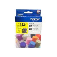 Brother LC133Y Yellow Ink Cartridge