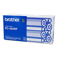 Brother PC-404RF Fax Cartridge Refills