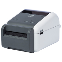 Brother TD-4420DNC Direct Thermal Label Printer with Ethernet & Cutter