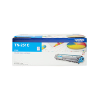 Brother TN251 Cyan Toner Cartridge