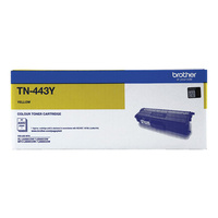 Brother TN-443 High Capacity Yellow Toner Cartridge