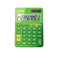 Canon LS123MBL Calculator - Green