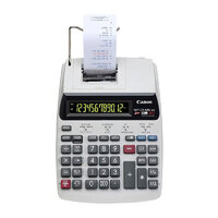 Canon MP120MGII Calculator