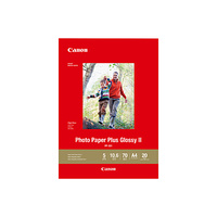 Canon Photo Paper Plus Glossy II A4 265gsm 20 Sheets PP301A4