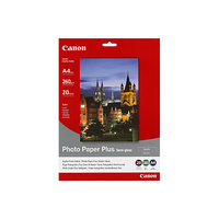 Canon Photo Paper Plus Semi Gloss A4 260gsm 20 Sheets SG201A4