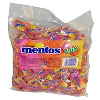Confectionery Mentos - Fruit Pillowpack 540Gm 200Pk