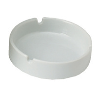 Compass Porcelain Ashtray White Bx12