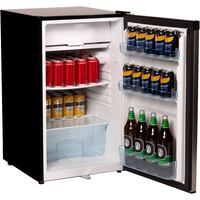 Nero Stainless Steel Bar Fridge and Freezer 125L