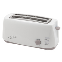Nero 4 Slice Toaster White White