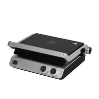 Nero Deluxe 4 Slice Sandwich Press / Contact Grill With Timer