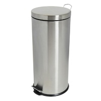 Compass 30 Litre 295X650mm Stainless Steel Pedal Bin